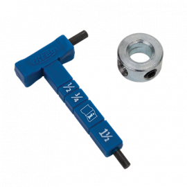 Depth Collar & Hex Wrench for Step Drill Bit - KJSC/D