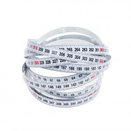 Self-Adhesive Measuring Tape Metric L-R 3.65m (12' - KMS7729 L-R